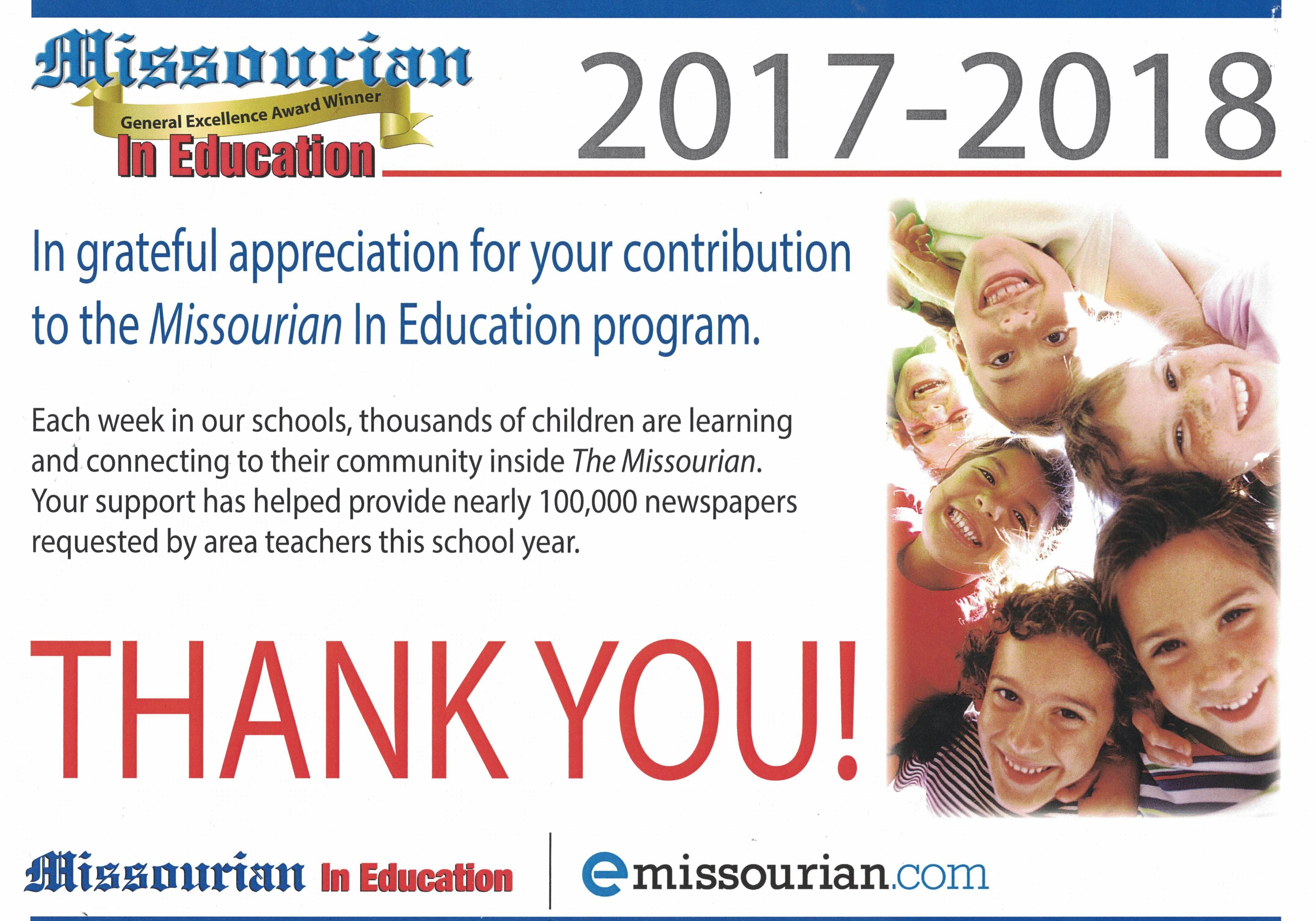 Missourian In Education